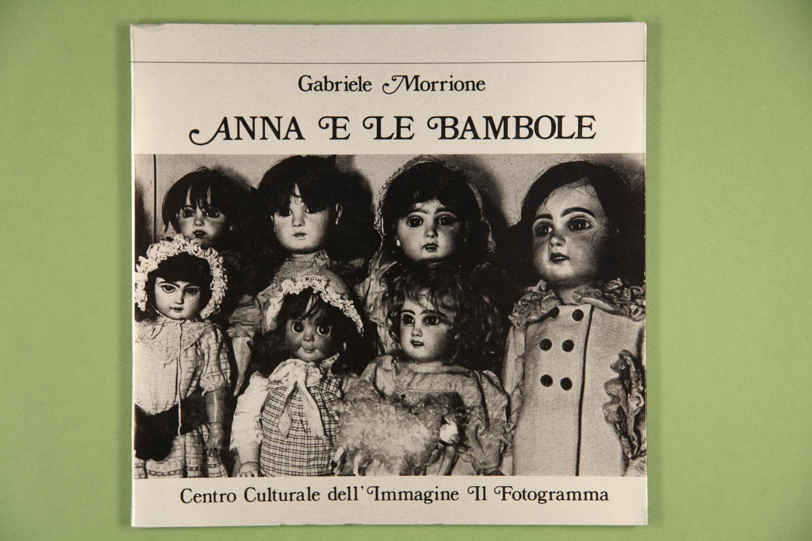 """Copertina del libro """"Anna e le bambole"""" di Gabriele Morrione"""