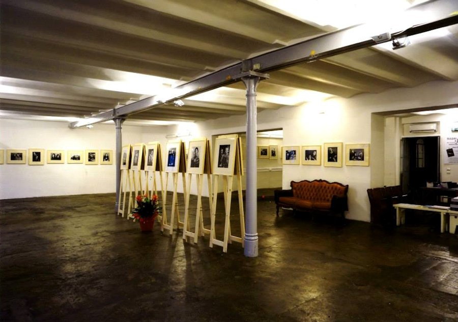 Immagine di una mostra di Gabriele Morrione