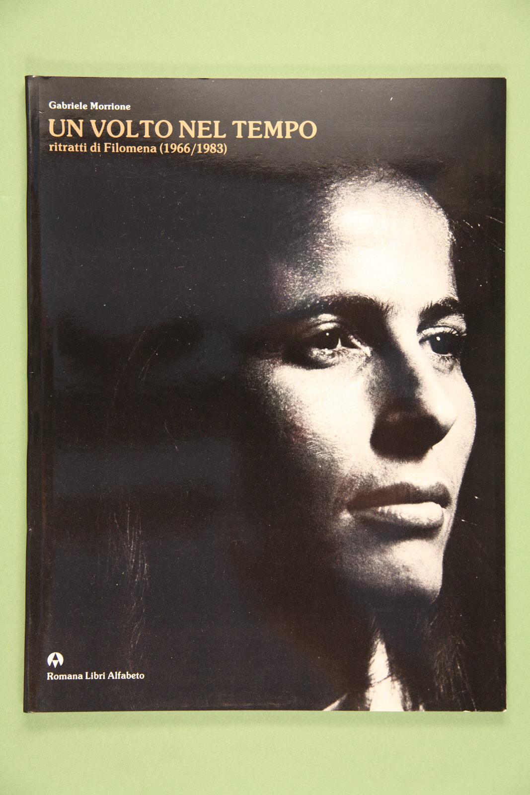 """Copertina del libro """"Un volto nel tempo"""" di Gabriele Morrione"""