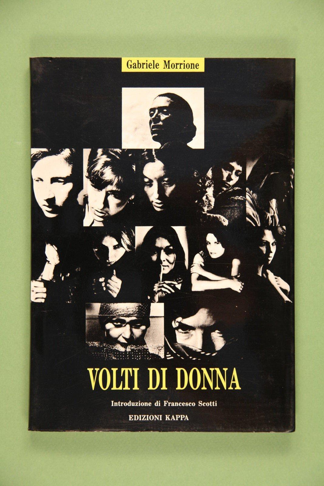 """Copertina del libro """"Volti di donna"""" di Gabriele Morrione"""